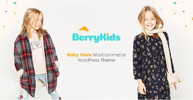 BerryKid baby store WooCommerce WordPress theme