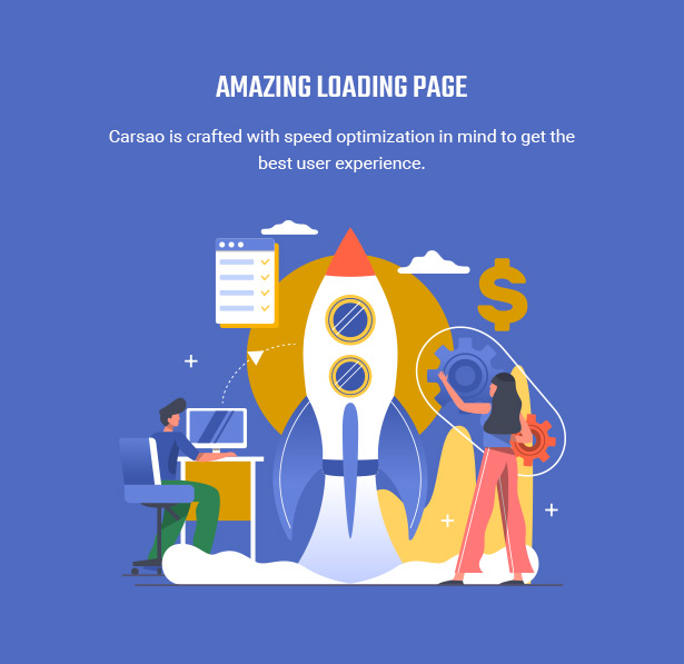 Loading Page In Seconds - Carsao - Car Service & Auto Mechanic WordPress Theme