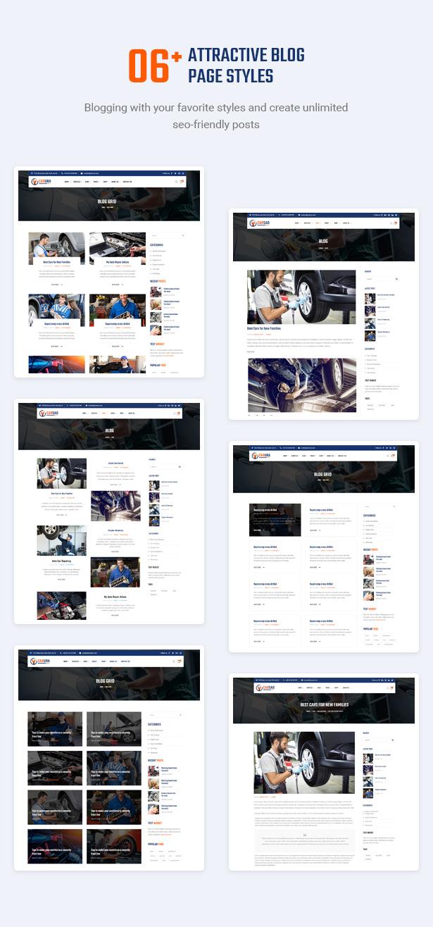 Attract Audience With Inspiring Blogs - Carsao - Car Service & Auto Mechanic WordPress Theme