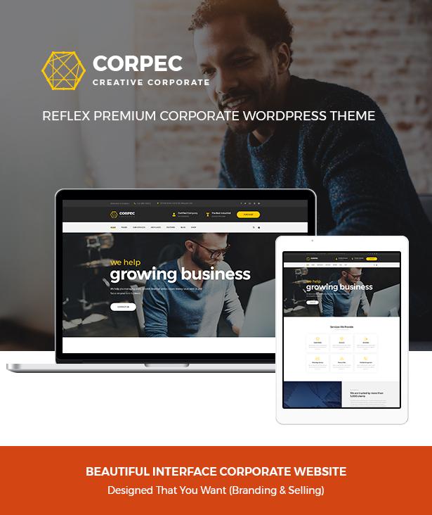 Corpec Best Corporate WordPress Theme