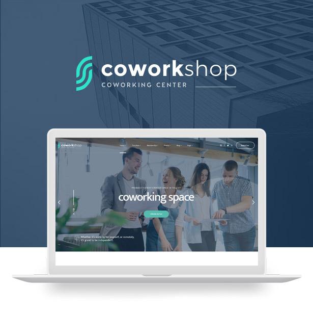 Coworkshop Coworking Space WordPress Theme