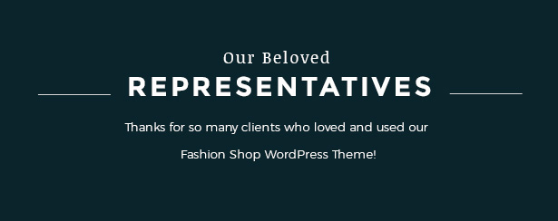 Portfolio's showcase Fashion WooCommerce Responsive WordPress Theme