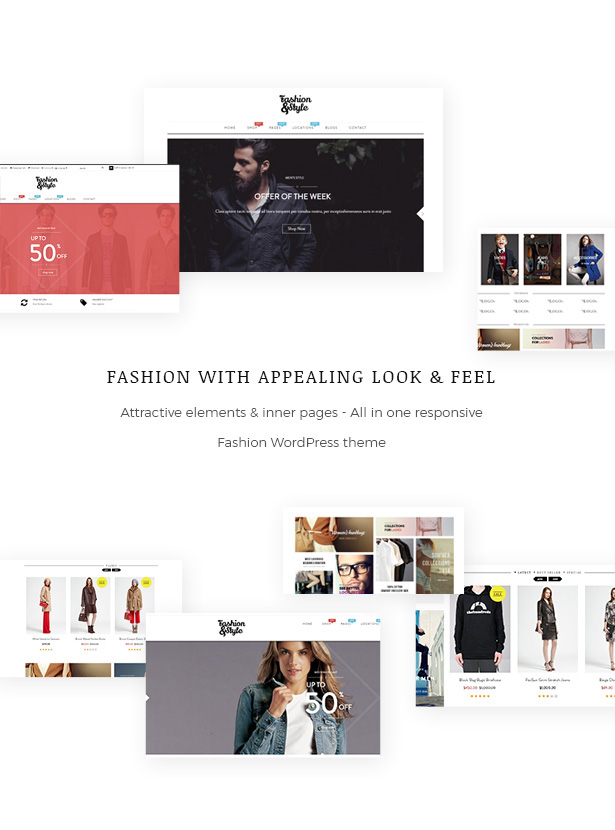All In One Fashion WooCommerce WordPress Theme