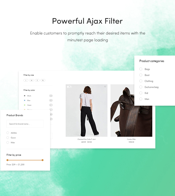 free fashion blog themes 2018 - powerful ajax filter