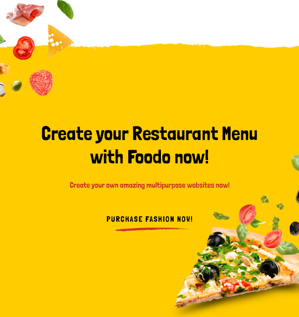 Foodo- Fast Food Restaurant WordPress Theme