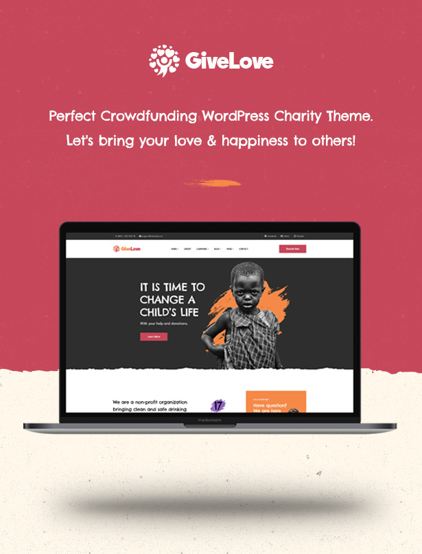 Givelove Non Profit Charity & Crowdfunding WordPress Theme  Download Givelove | Non-profit Charity & Crowdfunding WordPress Theme nulled 1