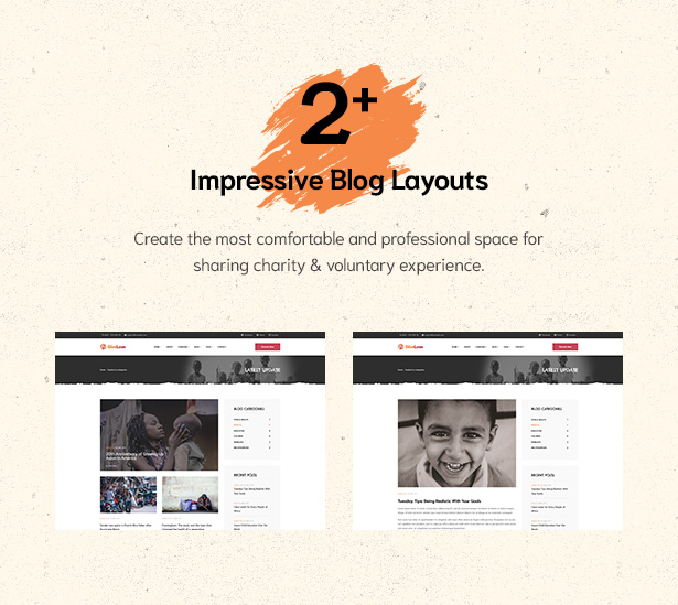 02+ impressive blog layouts in Givelove Non Profit Charity & Crowdfunding WordPress Theme  Download Givelove | Non-profit Charity & Crowdfunding WordPress Theme nulled 3