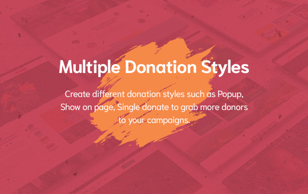 Multiple Donation Styles in Givelove Non Profit Charity & Crowdfunding WordPress Theme  Download Givelove | Non-profit Charity & Crowdfunding WordPress Theme nulled 5