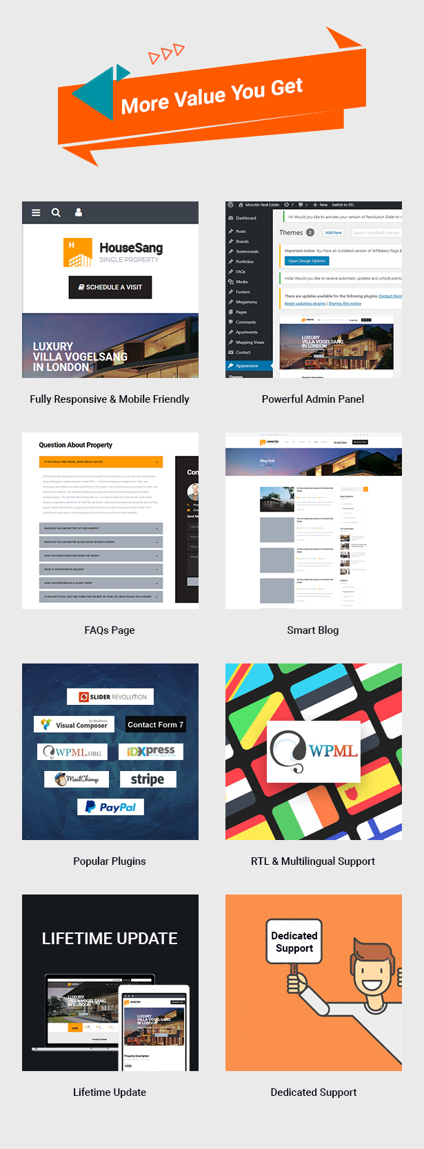 Fantastic Features in HouseSang Single Property WordPress Theme