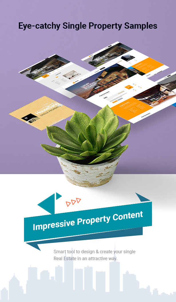 HouseSang with 04+ premade Single Property Homepages