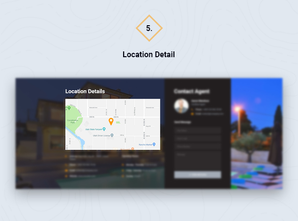 Location Detail in HouseSang Single Property WordPress Theme