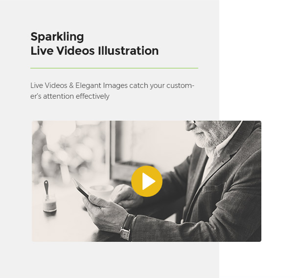 Great Videos Illustration Limonta - Modern Fashion WooCommerce WordPress Theme