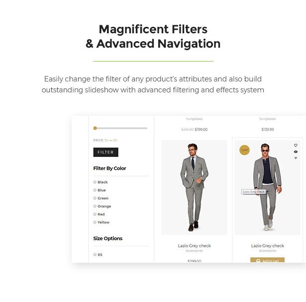 Awesome Filters & Navigation Limonta - Modern Fashion WooCommerce WordPress Theme