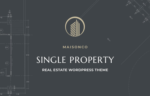 MaisonCo Single Property For Sale & Rent WordPress Theme