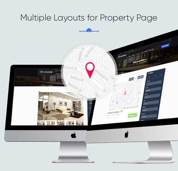 Multiple Layouts for Property Page in Parahouse Real Estate WordPress Theme