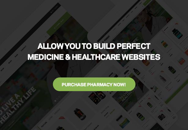 Best Pharmacy Medicine & Healthcare WordPress Theme