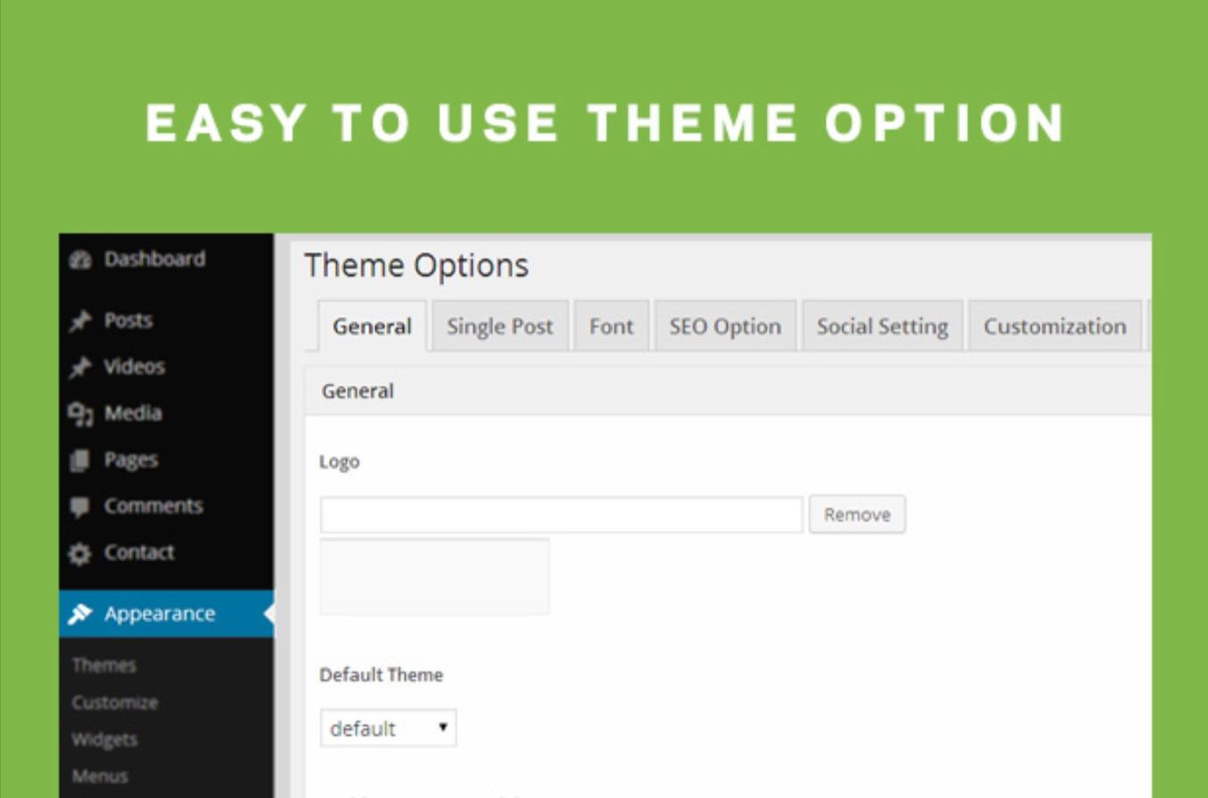 User-Friendly Theme Option Pharmacy WordPress Theme for Medicine & Healthcare