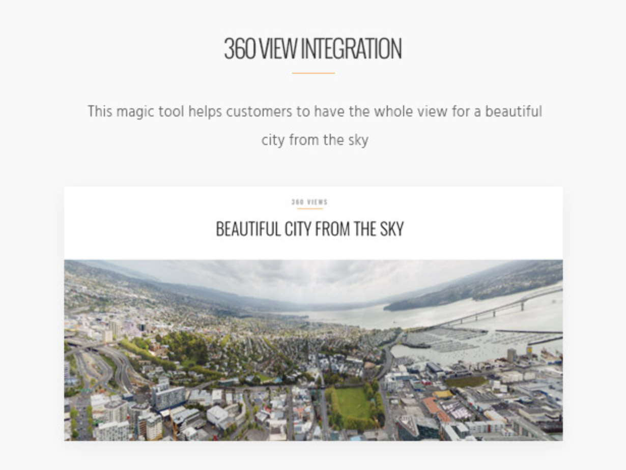 Skyview Complex Detail Property Single Property & Real Estate WordPress Themes