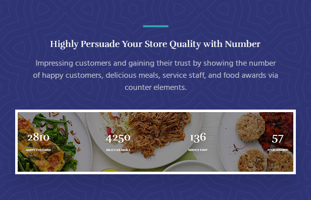 Impress Customers with the Number of Services Souldeli - Exquisite Restaurant & Cafe WordPress Theme
