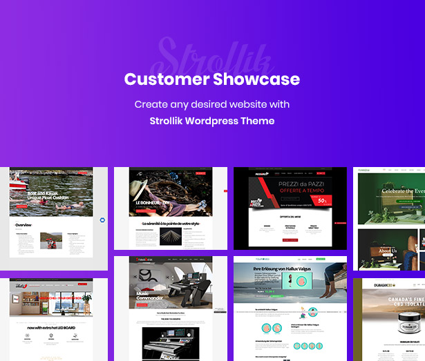 best Strollik single product WooCommerce WordPress theme