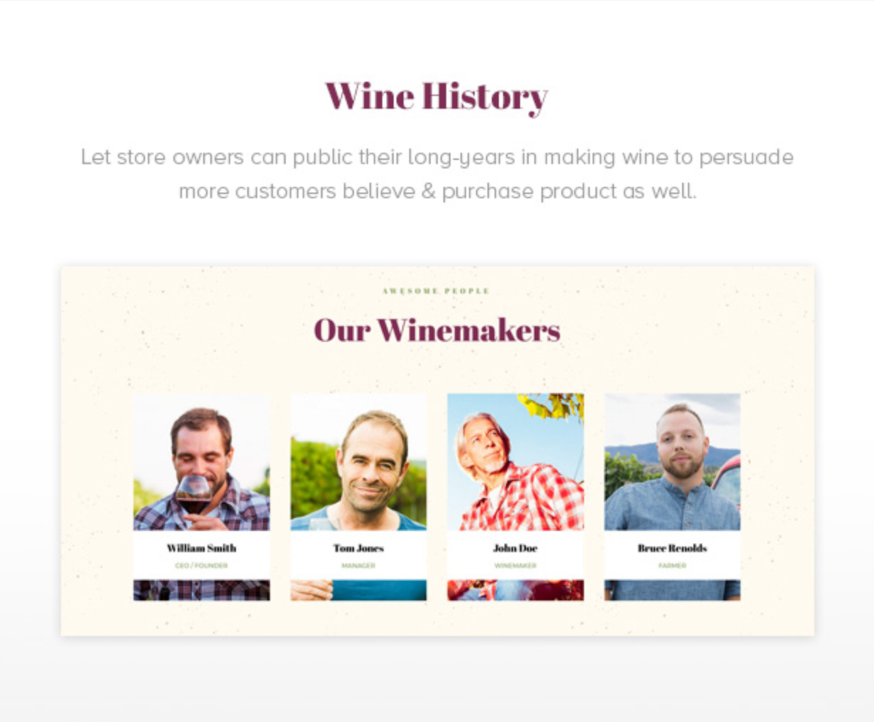 Royanwine Wine History for Vinyard, Winery, Wine Makers, Dairy Farm