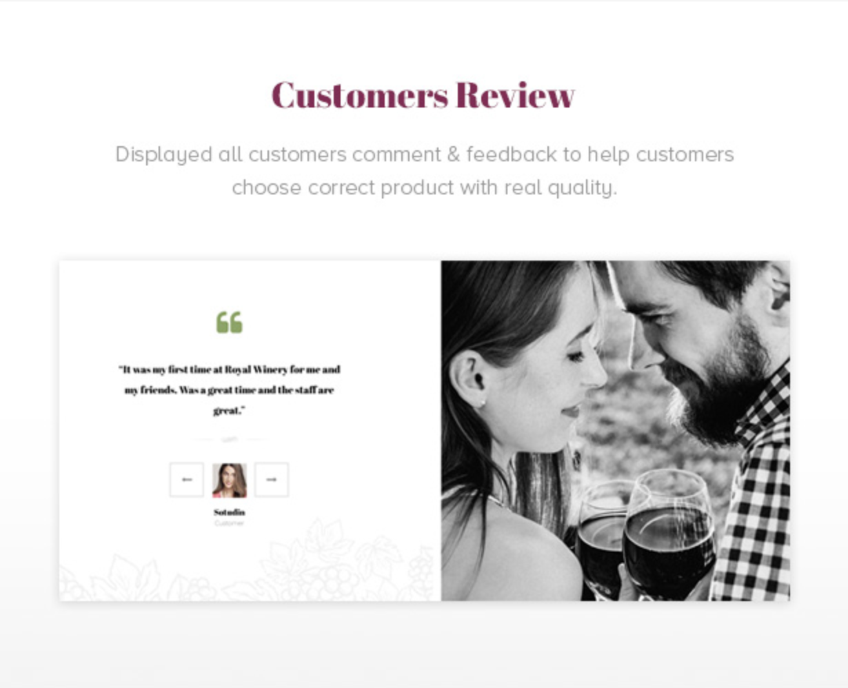 Royanwine Customer Reviews for Vinyard, Winery, Wine Makers, Dairy Farm