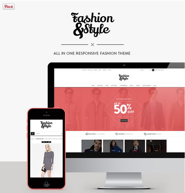 fashion - woocommerce wordpress theme preview