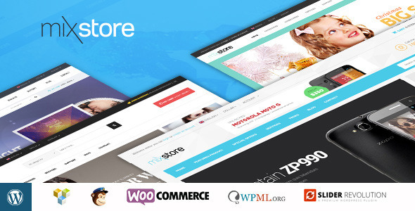 mixstore woocommerce wordpress theme