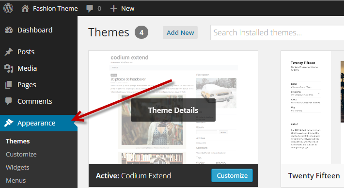 how to install a wordpress theme simply within 5 mintues