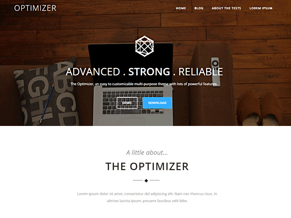 optimizer-theme