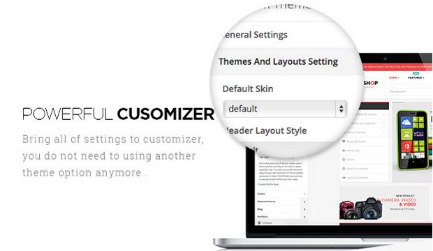 Powerful Customizer