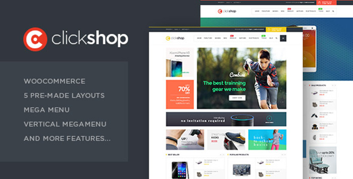 Welcome Clickshop – WooCommerce WordPress Theme