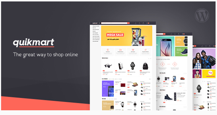Quickmart Multipurpose WooCommerce WordPress Theme