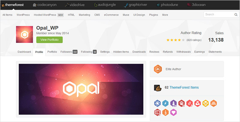 opal wordpress