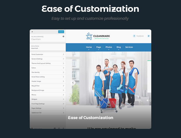 cleanmark_customization