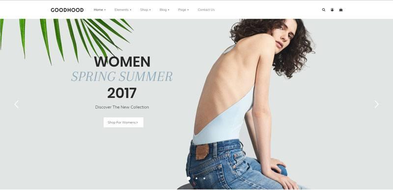 6. Goodhood best WooCommerce WordPress Theme 2018
