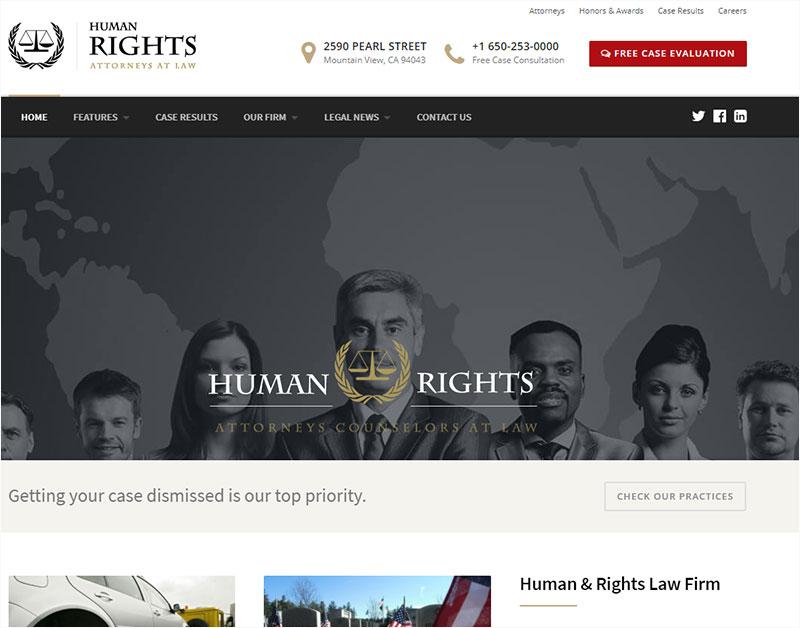 humanrights wordpress theme