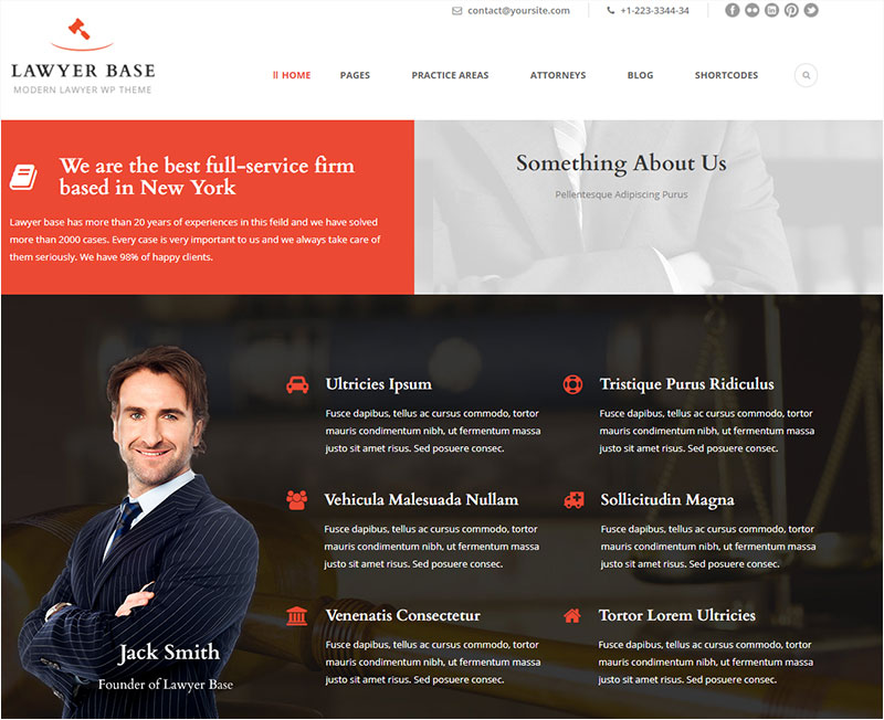 lawyer-base wordpress theme