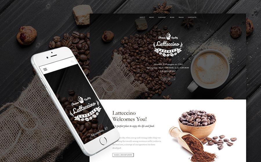 Coffee Shop WP Theme