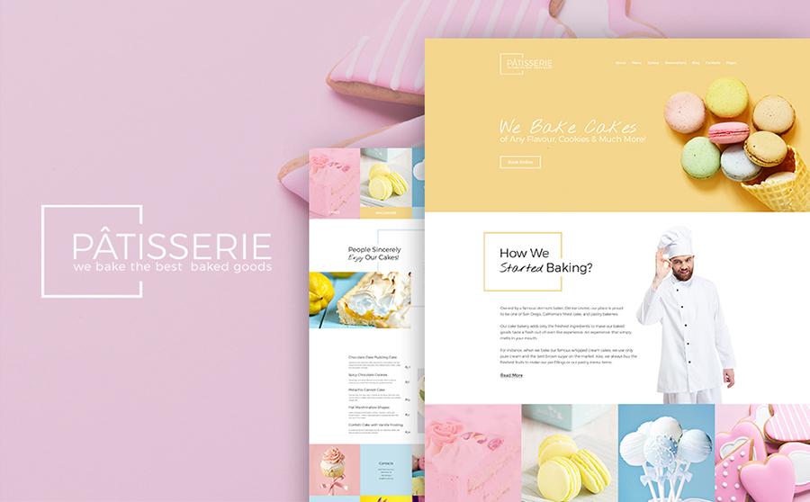 Cake Maker WordPress Theme