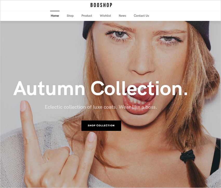 booshop wordpress theme