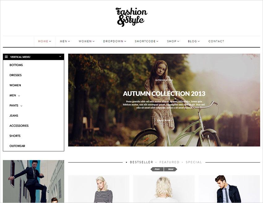 fashionstyle wordpress theme