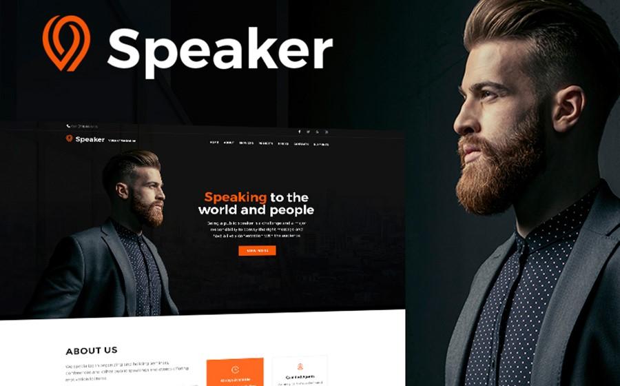 speaker wp theme