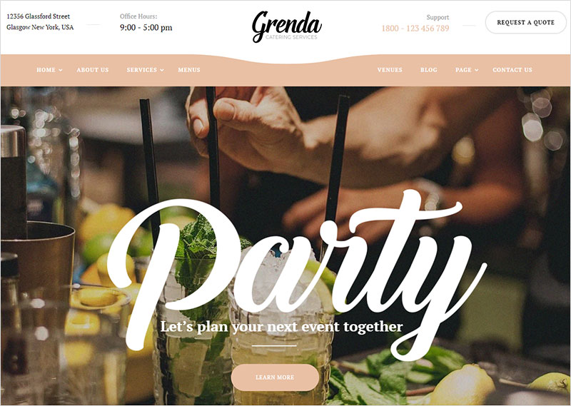 grenda-event-planner-wordpress-theme