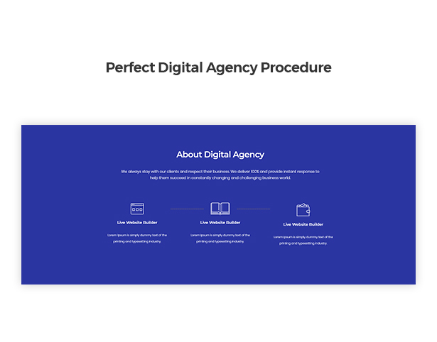 Perfect Digital Agency Procedure in Corpec Corporate WordPress Theme