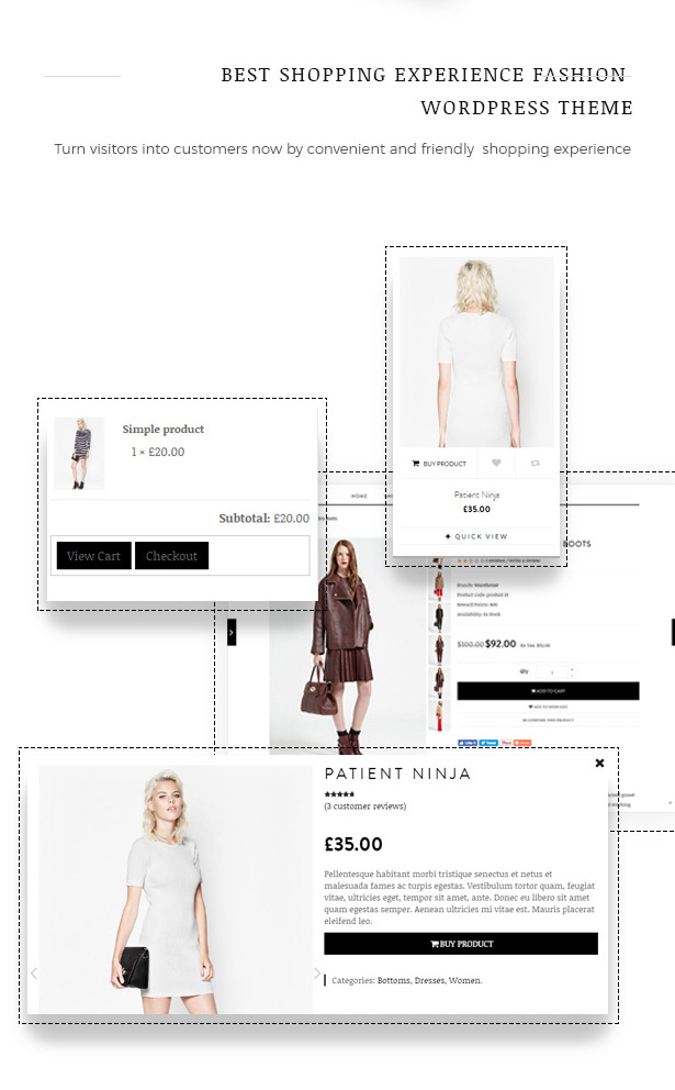 Great Shopping Experience Fashion WooCommerce WordPress Theme