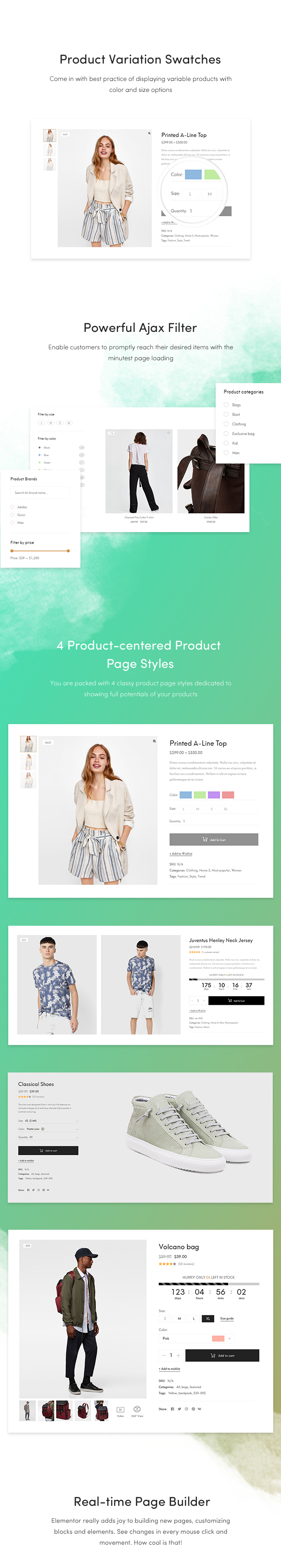Bult-inBest Features for WooCommerce WordPress Themes To Build Awesome E-Store 2018