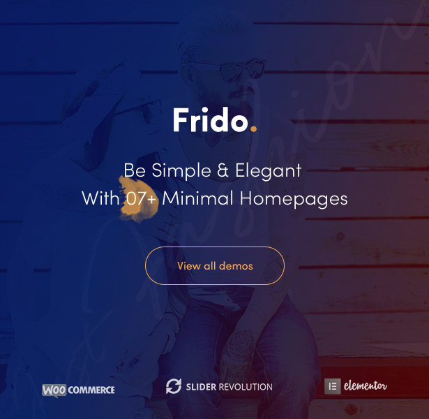 Fila Fashion WooCommerce Themes - 07 Minimal Homepages
