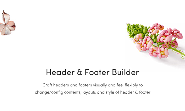 fashion woocommerce themes - header & footer builder