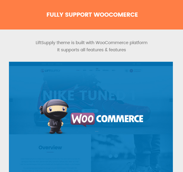 Liftsupply creative single product WooCommerce WordPress theme